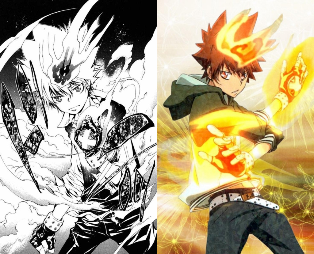 Manga vs Anime Katekyo Hitman Reborn!