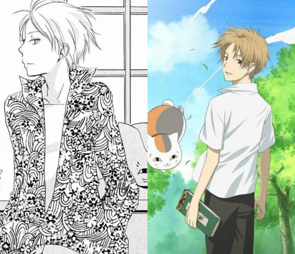 Manga vs Anime Natsume Yuujinchou