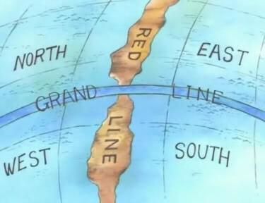 [One Piece] Mapa do Mundo