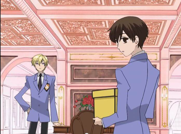 Ouran Koukou Host Club - integrantes do clube