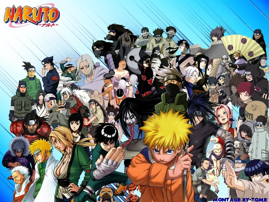 Personagens Anime Naruto