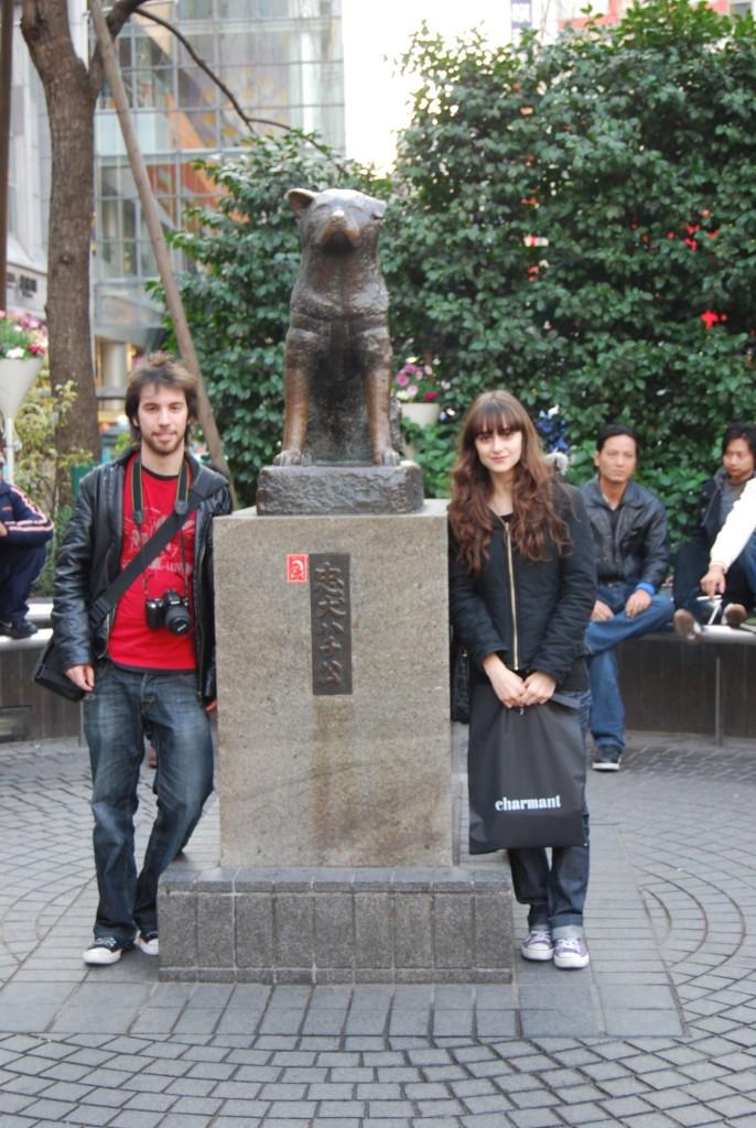 Estátua de Hachiko - Japão
