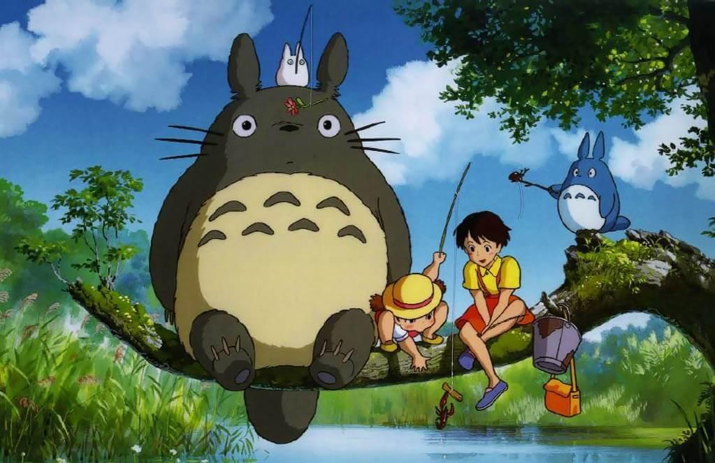 Top Filmes Anime que deviam ter Live Action - Studio Ghibli - My Neighbor Totoro