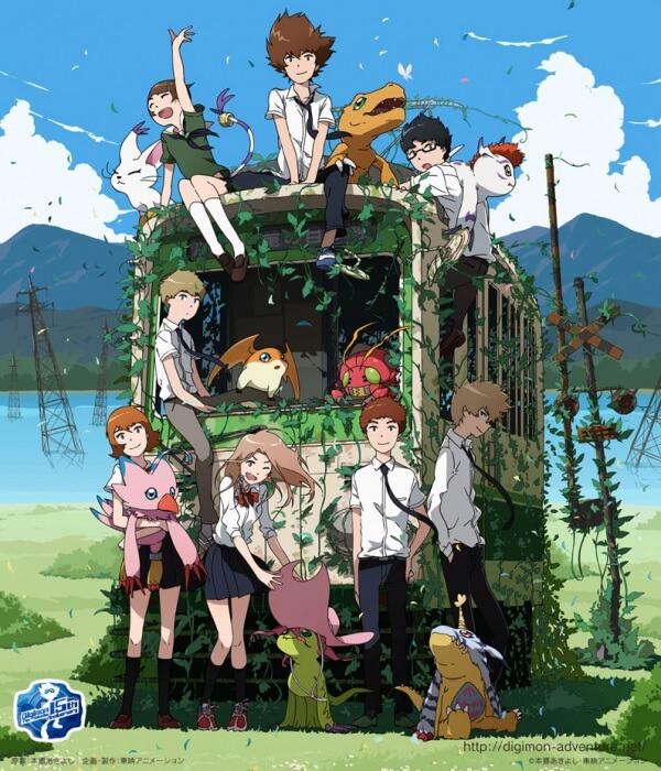 Ficha Técnica Digimon Adventure tri | Outono 2015