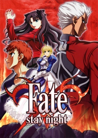 Poster Anime Fate stay night 2006