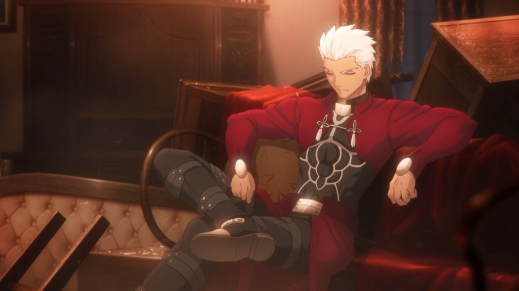 Anime Fate stay night Unlimited Blade Works