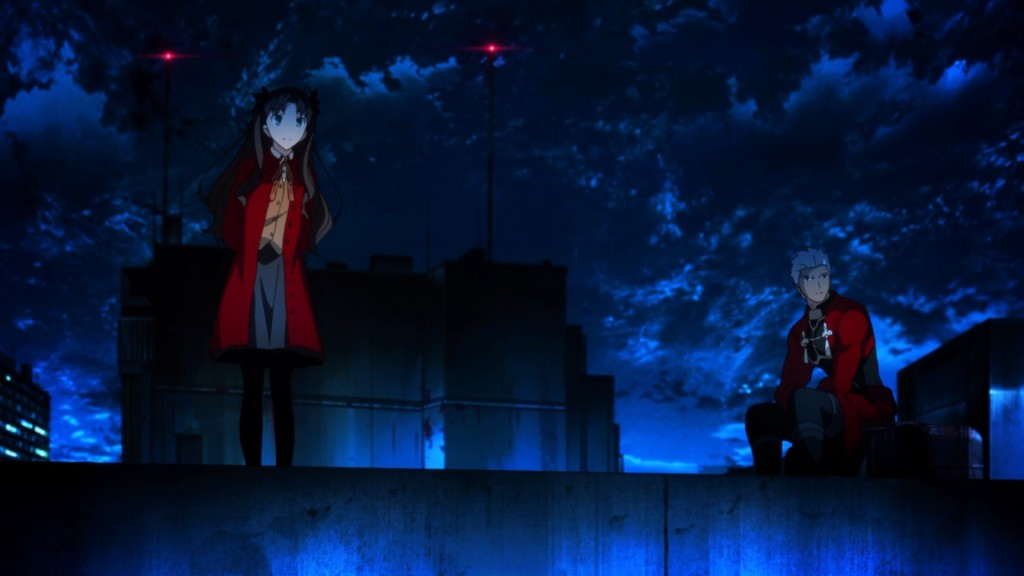 Fate stay night Unlimited Blade Works - Tohsaka Rin & Archer