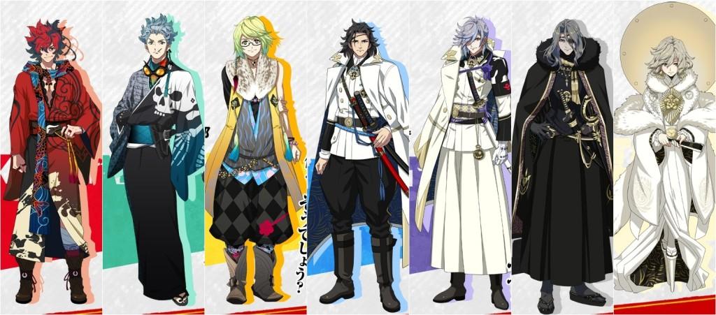 Lista Animes Verão 2014 - Bakumatsu Rock