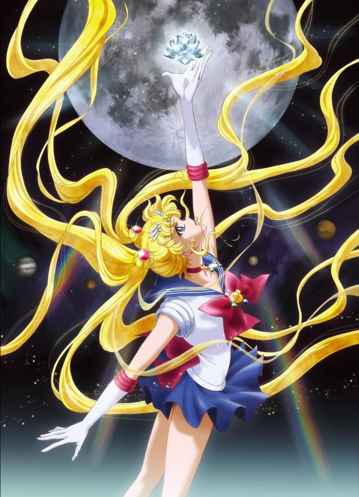 Lista Animes Verão 2014 - Bishoujo Senshi Sailor Moon Crystal