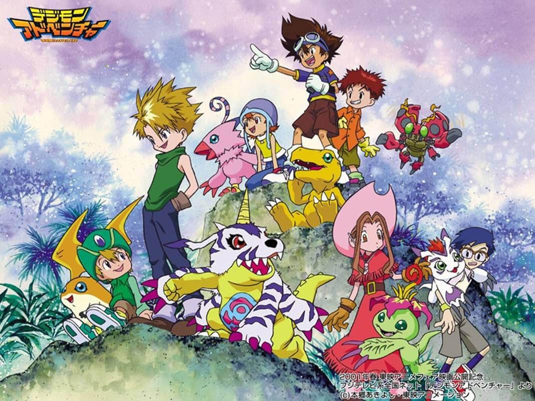 Digimon Adventure – Reboot revela Estreia em Novo Vídeo