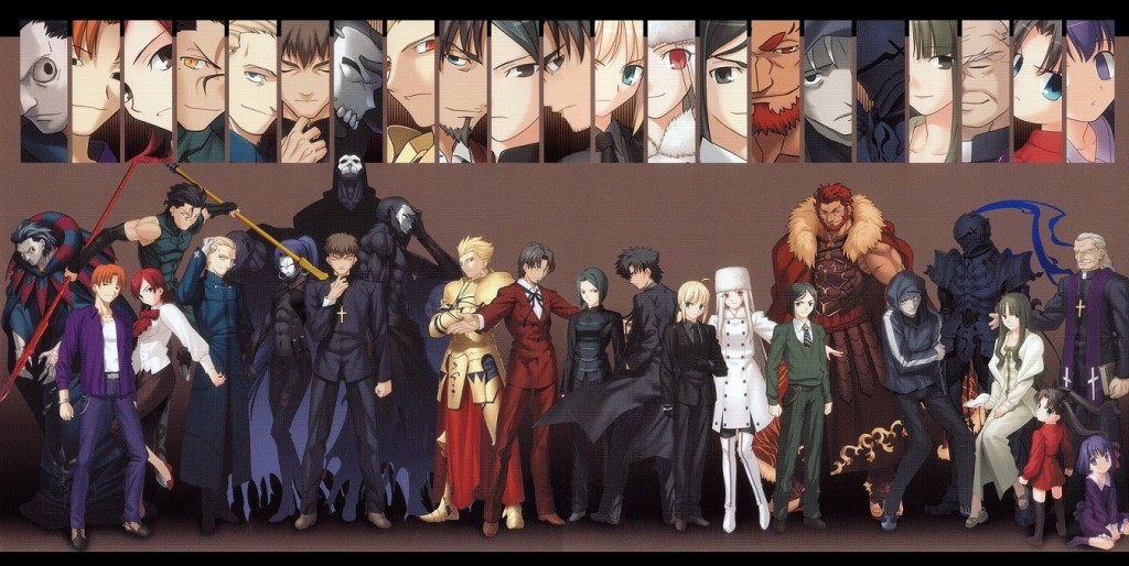 Fate Zero - Masters & Servants