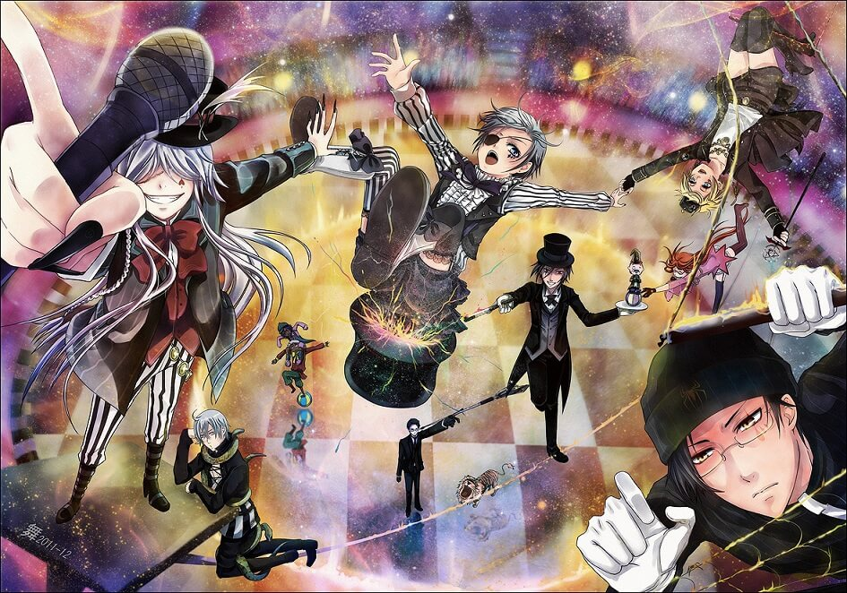 Lista Animes Verão 2014 - Kuroshitsuji Book of Circus