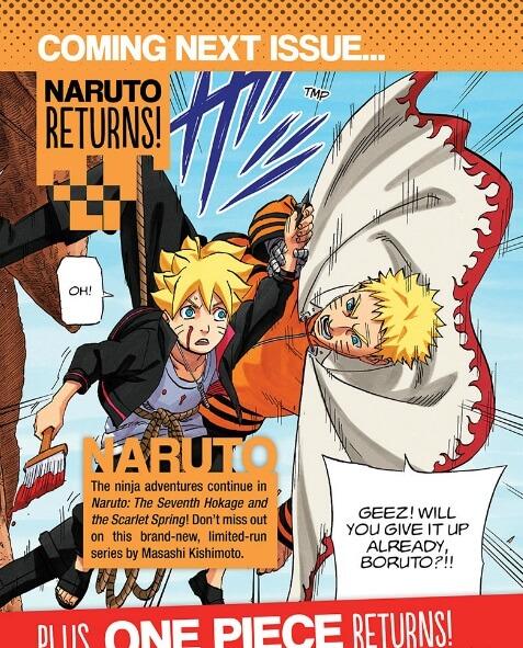 Naruto spinoff será publicado na Shonen Jump Viz