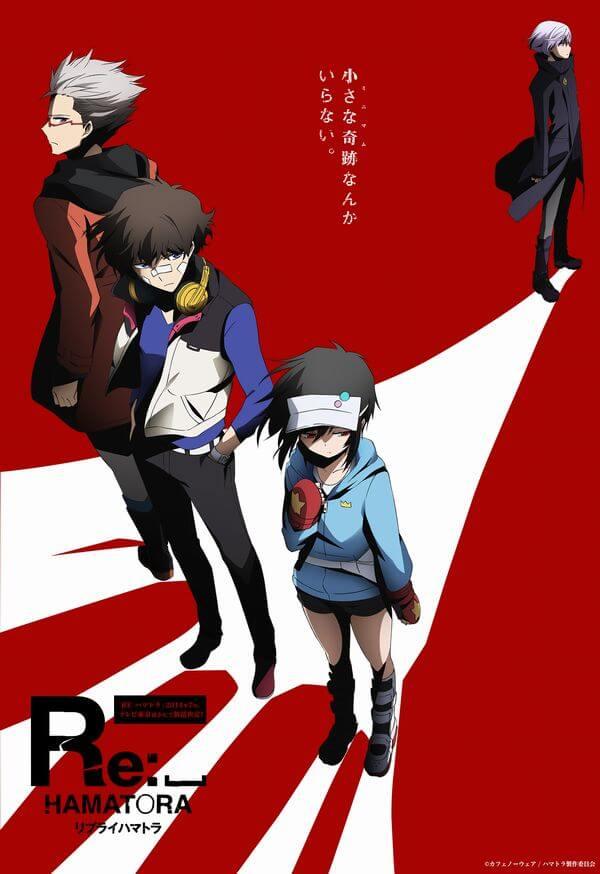 Lista Animes Verão 2014 - Re Hamatora