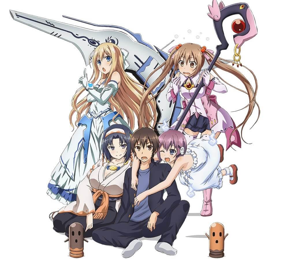 Lista Animes Verão 2014 - Rokujouma no Shinryakusha!?