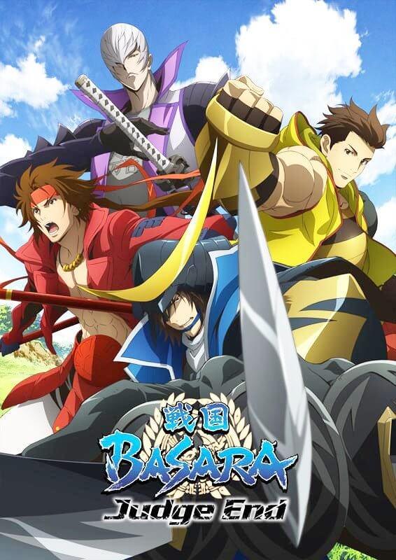 Lista Animes Verão 2014 - Sengoku Basara