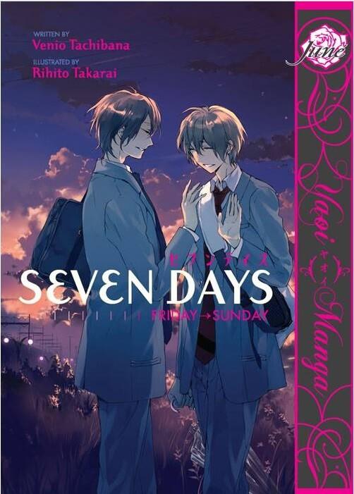Manga Shounen Ai Seven Days Adaptado para Live-Action