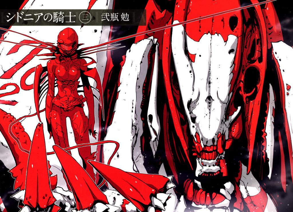 Sidonia no Kishi recebe dois Spinoff Manga