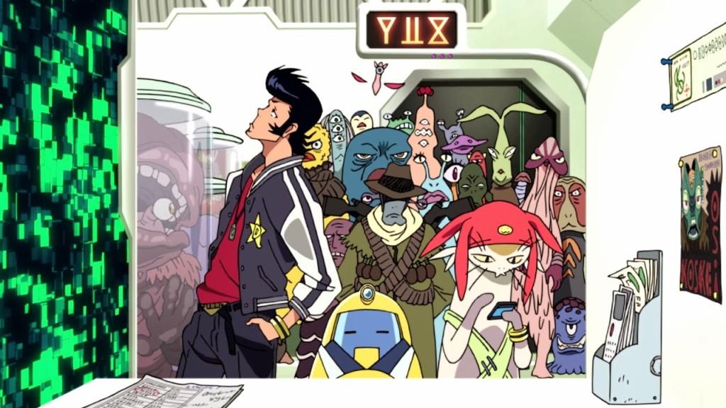 Lista Animes Verão 2014 - Space Dandy 2