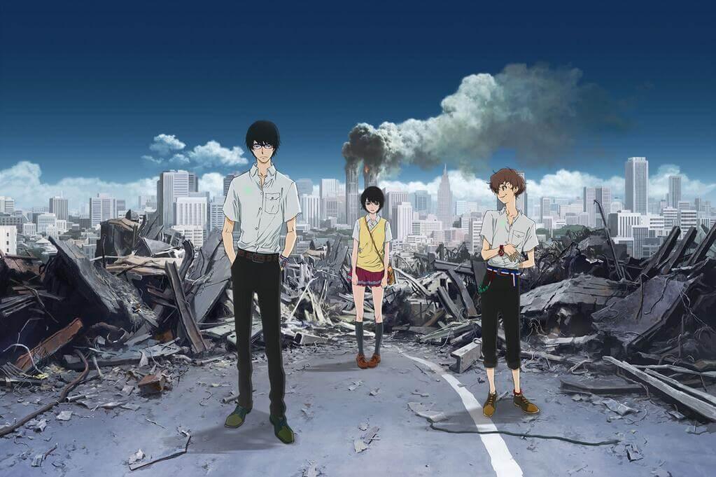 Lista Animes Verão 2014 - Zankyou no Terror
