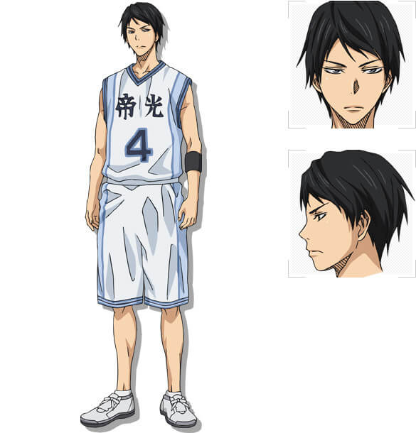 Kuroko no Basket divulga online imagens do Arc Teiko