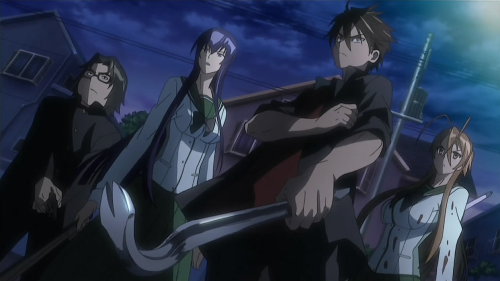 Anime Highschool of the Dead