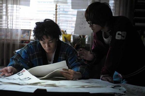 Bakuman Live-Action visita Shonen Jump