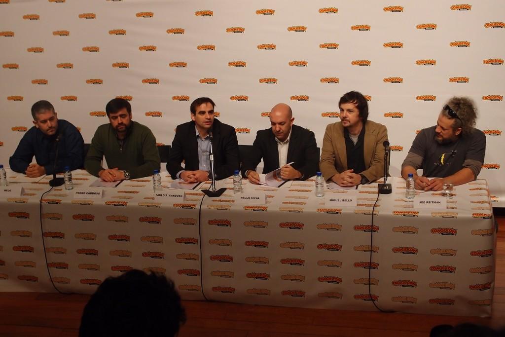 Apresentação Comic Con 2014 Portugal