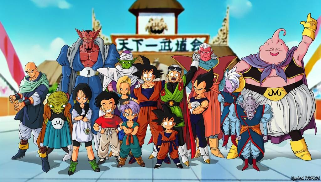 Anime Dragon Ball Z - Saga Majin Buu
