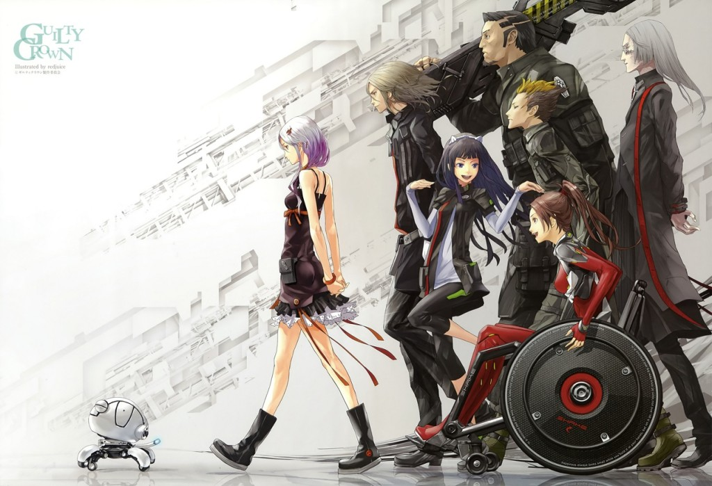 Lista Animes Outono 2011 - Guilty Crown