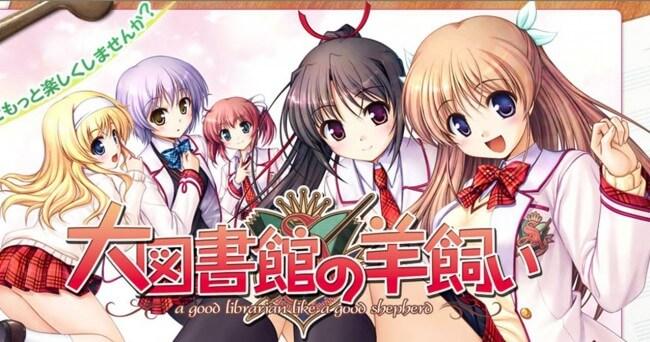 Lista Animes Outono 2014 - Daitoshokan no Hitsujikai