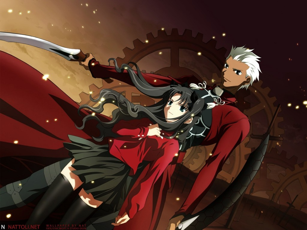 Lista Animes Outono 2014 - Fate stay night Unlimited Blade Works