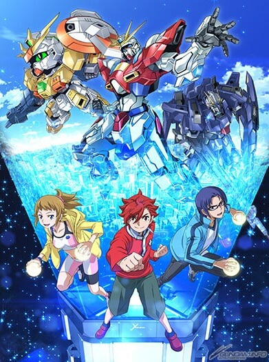 Lista Animes Outono 2014 - Gundam Build Fighters Try