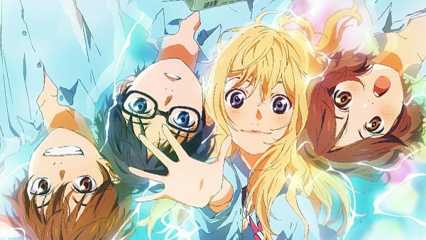 Lista Animes Outono 2014 - Shigatsu wa Kimi no Uso