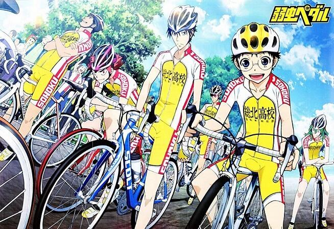 Lista Animes Outono 2014 - Yowamushi Pedal Grande Road