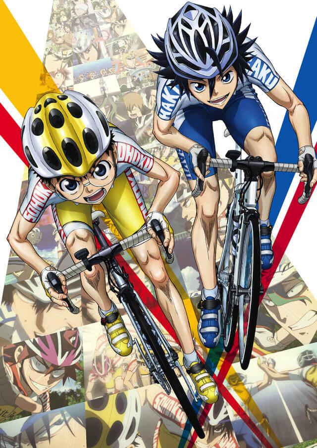 Yowamushi Pedal divulga vídeos promocionais | Filmes