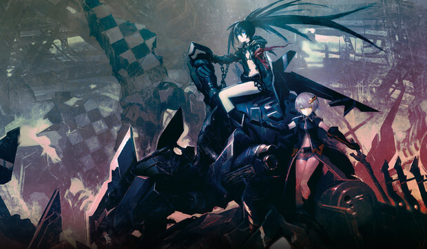 Lista Animes Inverno 2012 - Black Rock Shooter