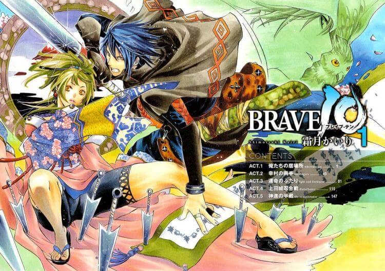 Lista Animes Inverno 2012 - Brave 10