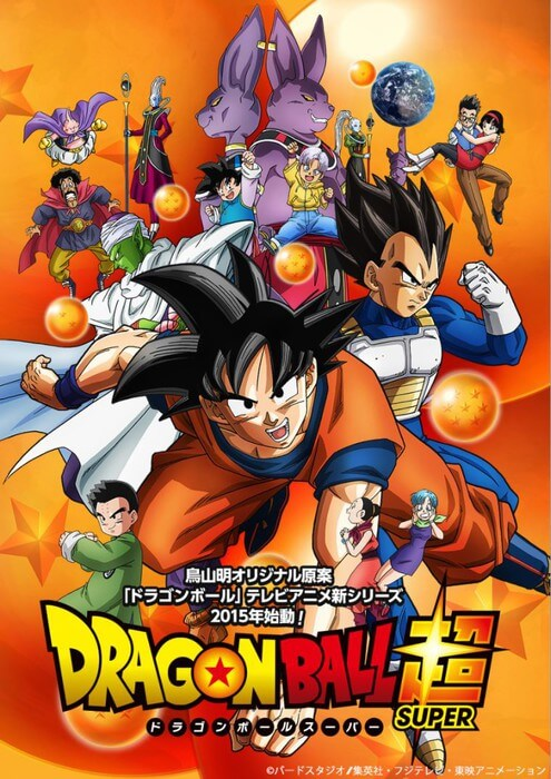 Dragon Ball Super Revela Data de Estreia na SIC