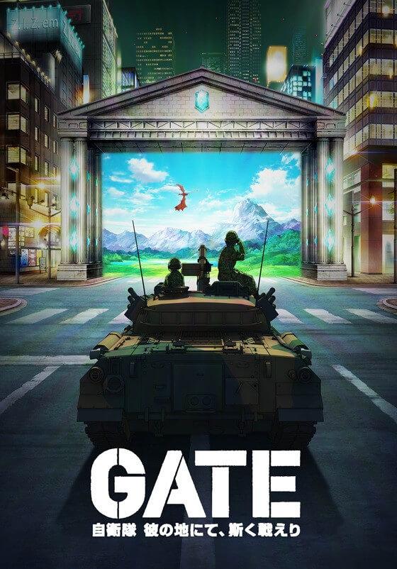Gate Jieitai Kanochi nite Kaku Tatakaeri estreia a 3 de Julho