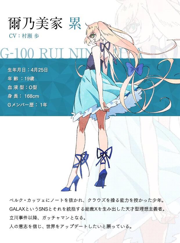 Rui Ninomiya - Ayumu Murase