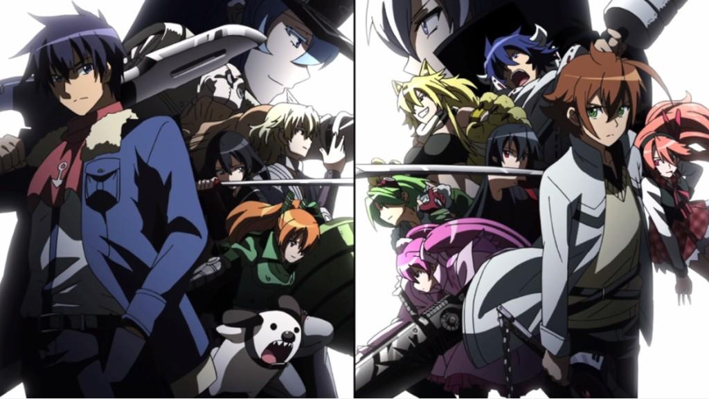 Akame ga Kill! - The Jaegers vs Night Raid