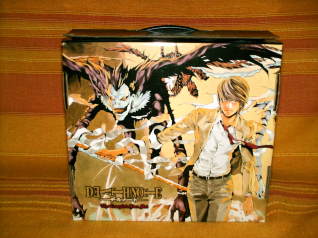 Artwork Death Note Manga Box Set