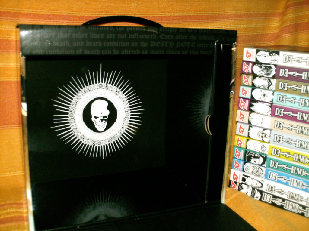 Death Note Manga Box Set