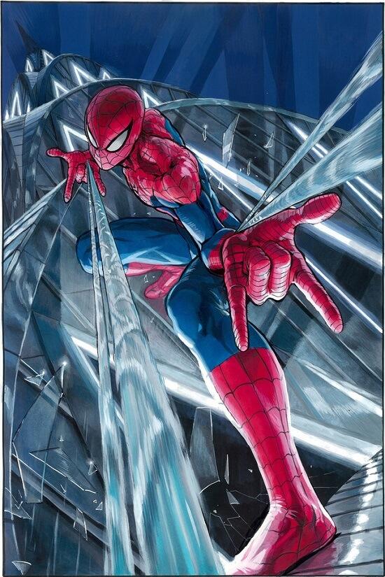 Amazing Spider-Man: Renew Your Vows #4 capa por Yusuke Murata (One-Punch Man)
