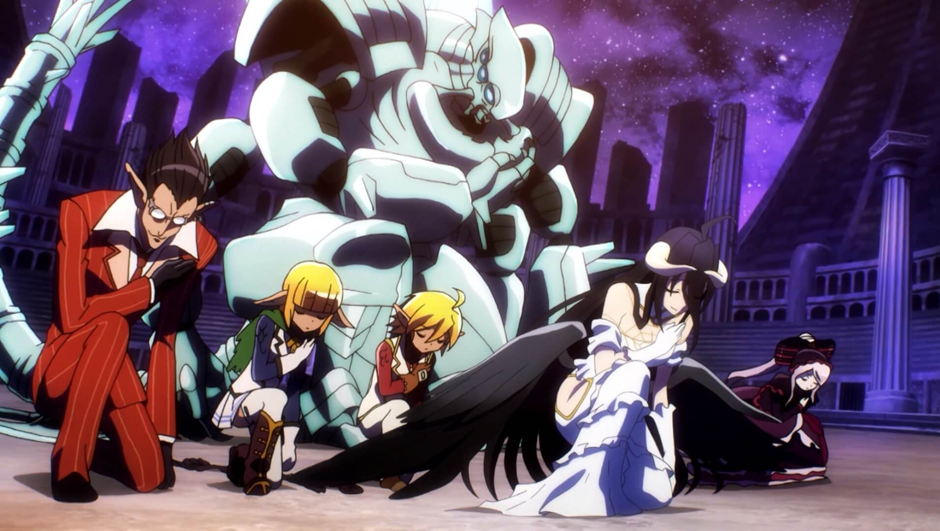 Overlord Personagens