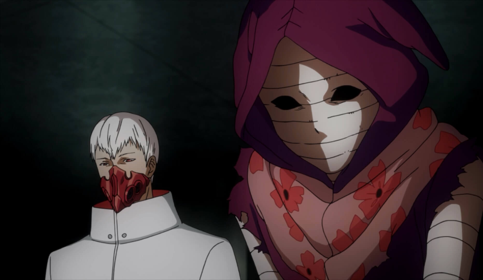 Tokyo Ghoul Root A Personagens Misterio