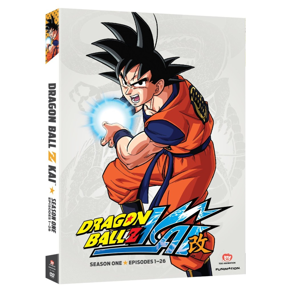 DVDs Blu-rays Anime Outubro 2011 | Dragon Ball Z Kai Season One