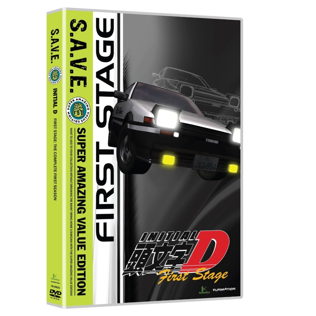 DVDs Blu-rays Anime Outubro 2011 | Initial D First Stage SAVE