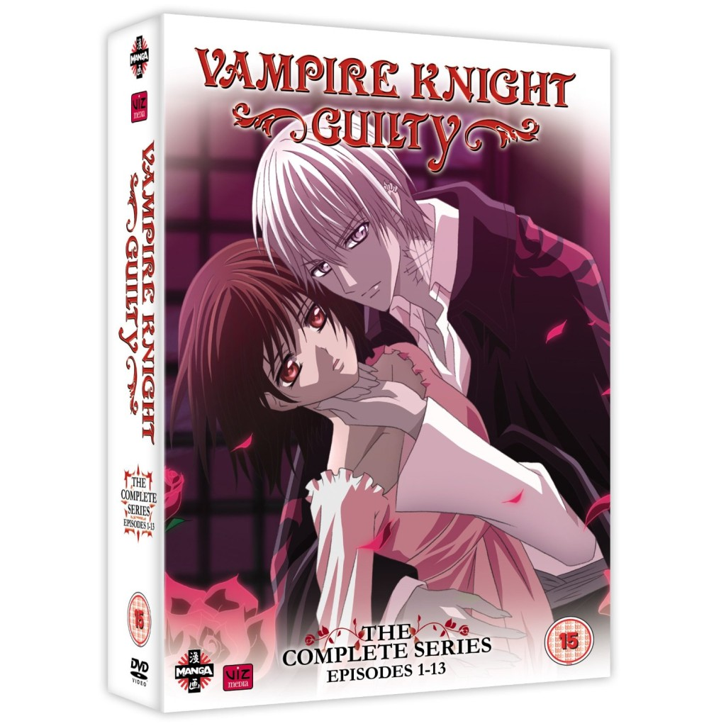 DVDs Blu-rays Anime Outubro 2011 | Vampire Knight Guilty Complete Series